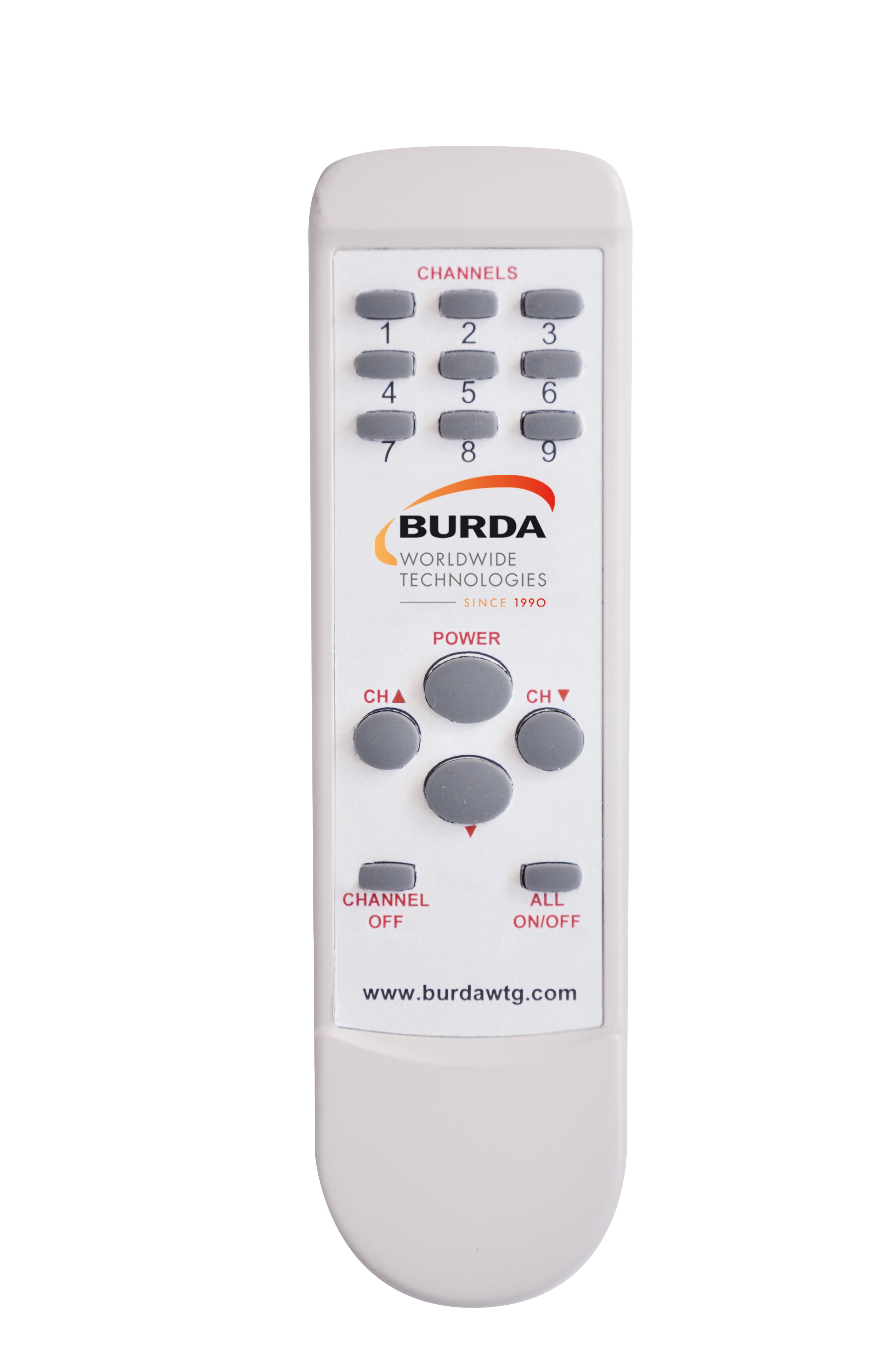 Télécommande BHCR9 pour Contrôleur 4kW & 6kW MultiZones